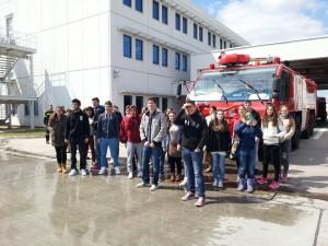 Εκπαιδευτική επίσκεψη στον Διεθνή Αερολιμένα Αθηνών 21/03/2015
