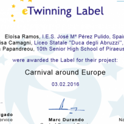 etwinning label